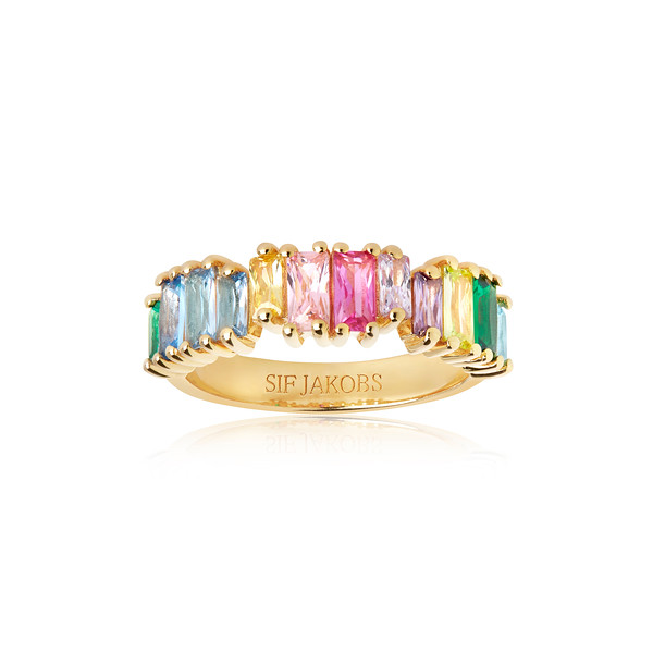 ANTELLA PICCOLO RING WITH BAGUETTE STONES