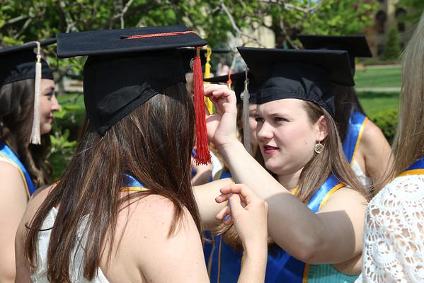 Notre Dame Graduation