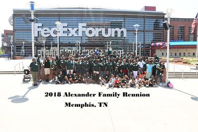 Alexander Family Reunion 2018