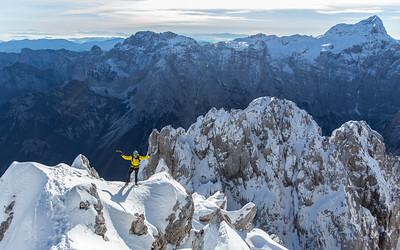 12 09 Visoki Rokav winter ascent