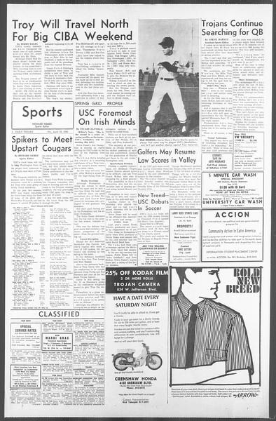 Daily Trojan, Vol. 56, No. 103, April 23, 1965