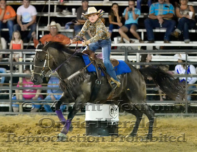 2016 Jr. Barrel Racing Sunday 9/4/2016