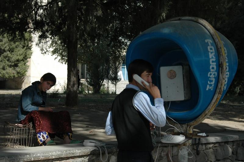 Public Phone - Dushanbe, Tajikistan