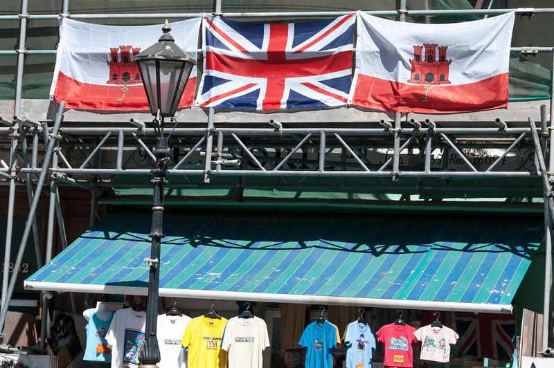 British flag spotted in Gibraltar