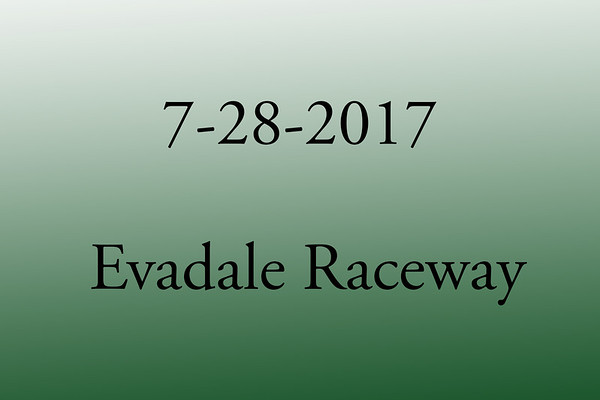 7-28-2017 Evadale Raceway 'Test and Tune'