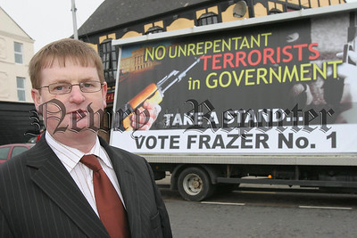 Newry & Armagh Independent Willie Frazer.