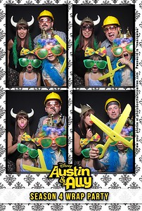 Austin & Ally Wrap Party