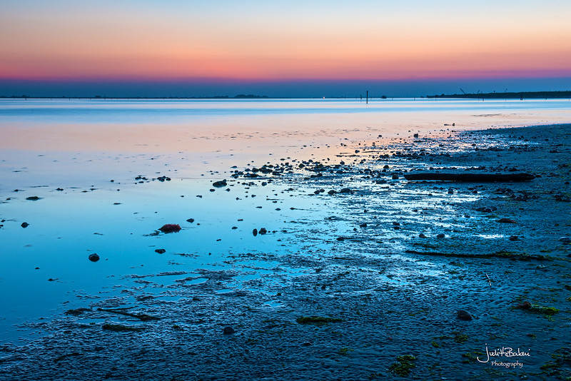 Scardovari Lagoon , Italy
