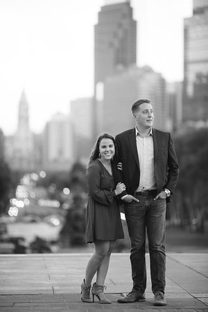 Eileen + Mike BW