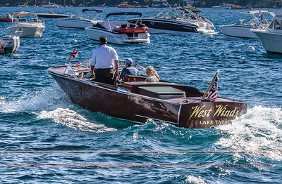 The Miss West Winds, Lake Tahoe concours D'elegance 2011