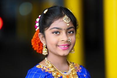 Anika's Half Saree