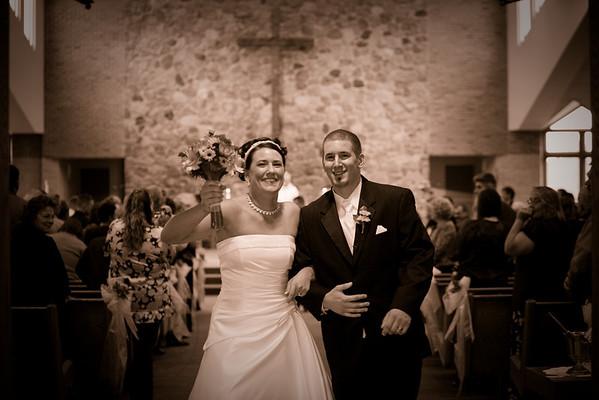 Katie and Luke Wedding Day