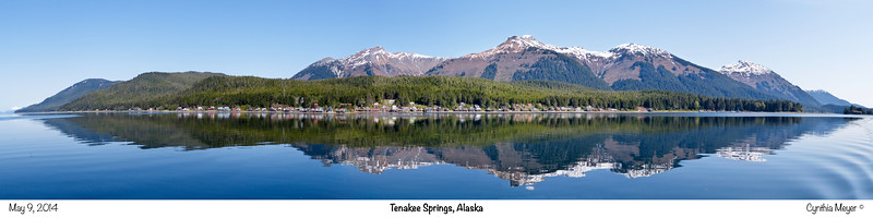 Tenakee Springs Panorama May 2014, Cynthia Meyer, Tenakee Springs, Alaska