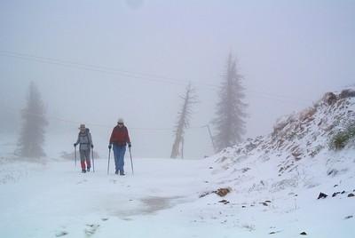 "Wolf Creek Pass ""Snow Hike"""