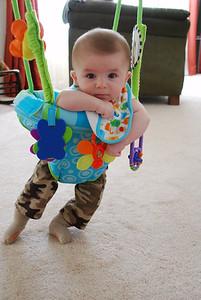 11, June 3-18th:  Hayden is 4 months old!