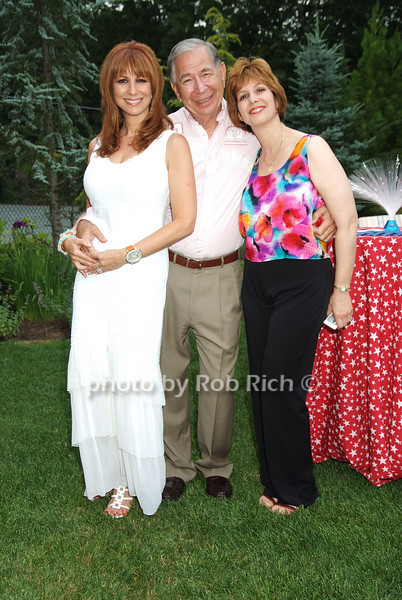 Jill Zarin, Sol Zamen, Lisa Wexler .photo by Rob Rich © 2008 516-676-3939 robwayne1@aol.com