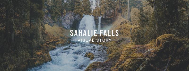 Sahalie Falls Visual Story
