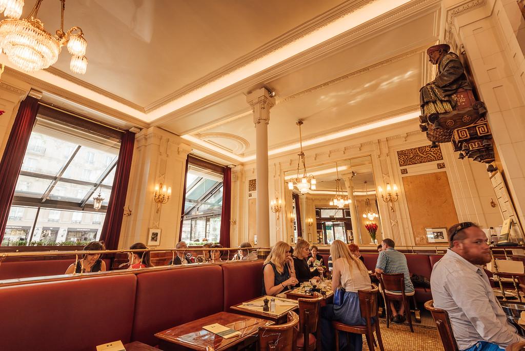 到巴黎攝影 雙叟咖啡館 Les Deux Magots