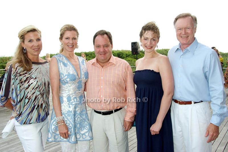 Margo McNabb Nederlander, Ellen Scarborough, James Nederlander, Sara Adams, Chuck Scarborough photo by Rob Rich © 2008 516-676-3939 robwayne1@aol.com
