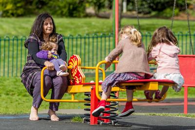 Albert Road Park April 2015