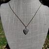 1.63ctw Edwardian Diamond Pave Heart Pendant 6
