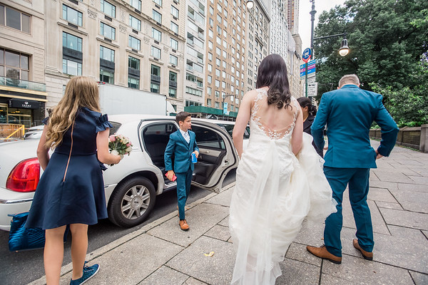 Central Park Wedding - Vincent & Ruth