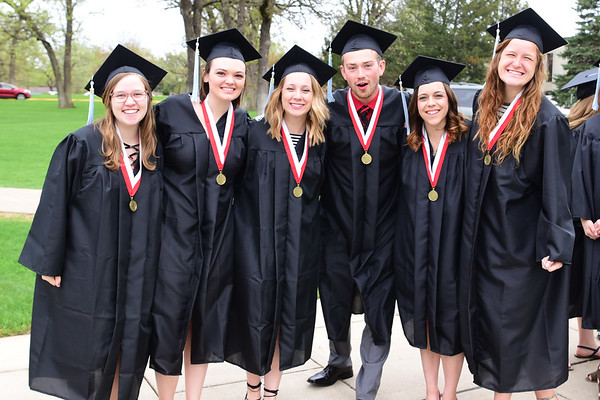 May Commencement and Call Service