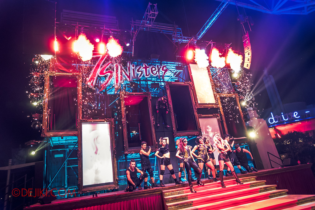 Halloween Horror Nights 7 Singapore - RIP Tour Review / Slit Face Girls SLICE OF LIFE TOUR