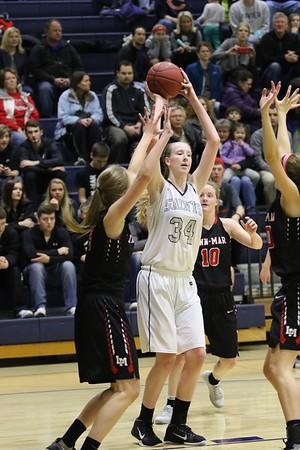 Linn-Mar vs. Xavier Girls' Basketball 2/10/17