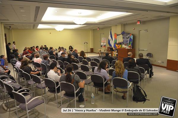 """""""Voces y Huellas"""" - Vladimir Monje @ Embajada de El Salvador"""