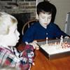Devin & Ian @ his 5th birthday 1998
