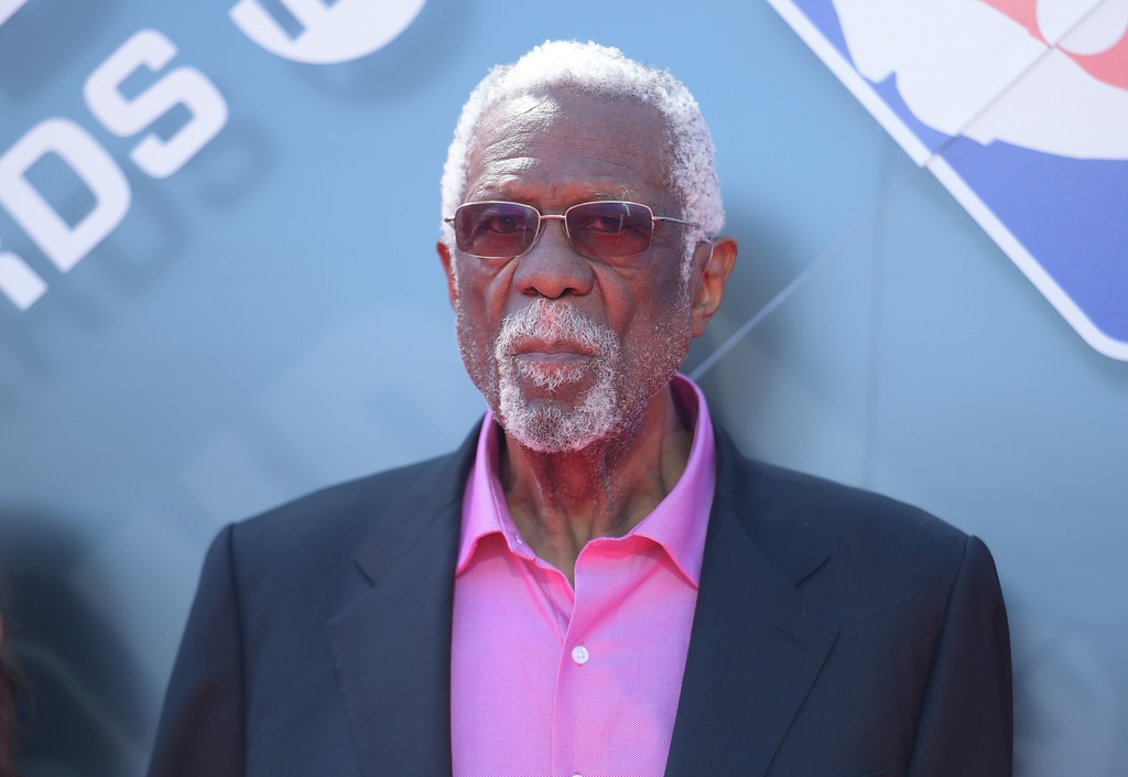 . Bill Russell arrives at the NBA Awards on Monday, June 25, 2018, at the Barker Hangar in Santa Monica, Calif. (Photo by Richard Shotwell/Invision/AP)