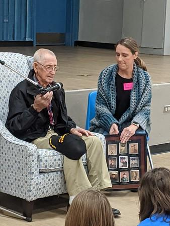 WW2 Veteran Visit