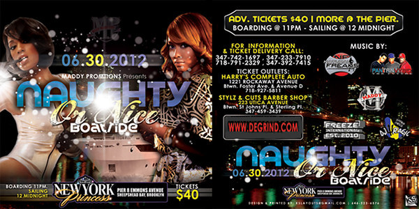 06/30/12 Naughty Or Nice Boatride