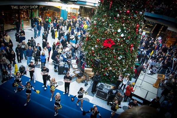2013 Army Navy Game Pep Rally Liberty Place