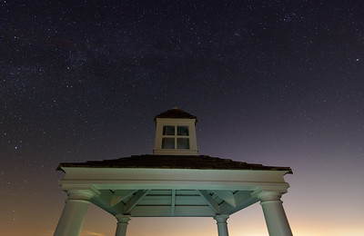 Starry night at Rhetts Bluff, Kiawah Island, SC