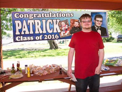 Patrick Grad Party 2016