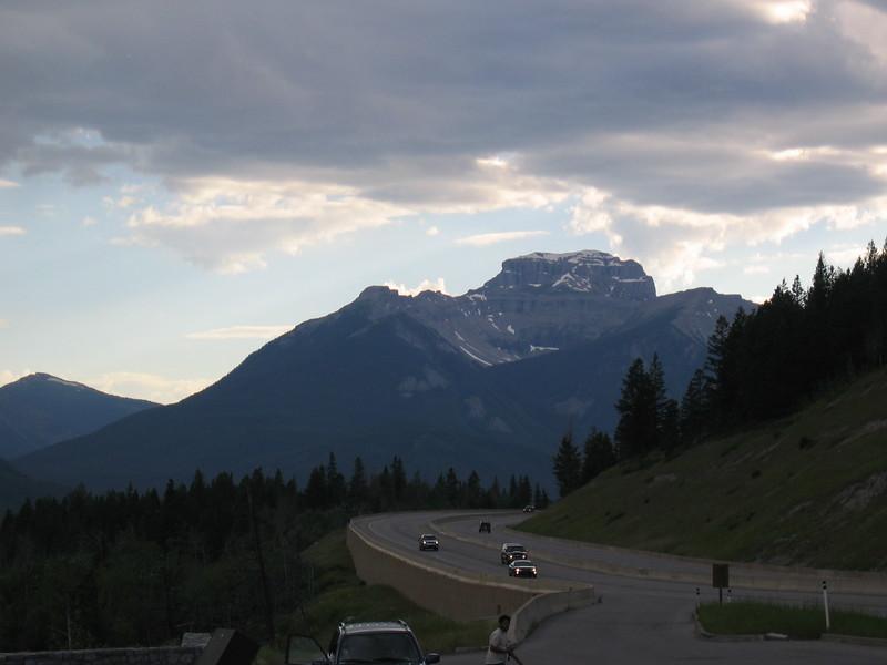 Trans Canada Highway near Banff