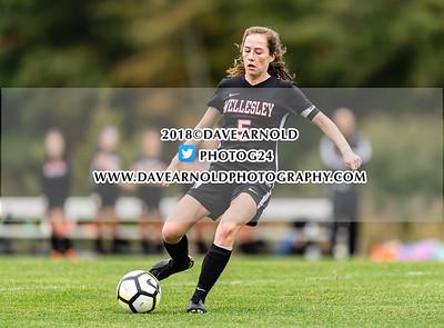 10/8/2018 - Girls Varsity Soccer - Wellesley vs Needham