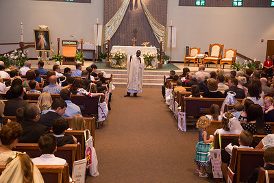 Communion/Confirmation Mass- April 17, 2016 (Set 1)