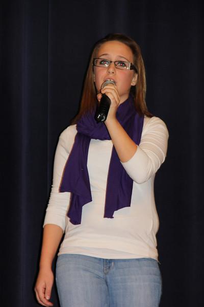 Talent Show, Middle School, Tamaqua (11-21-2012)