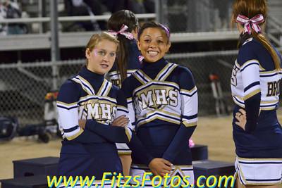 Varsity Cheer at CHS