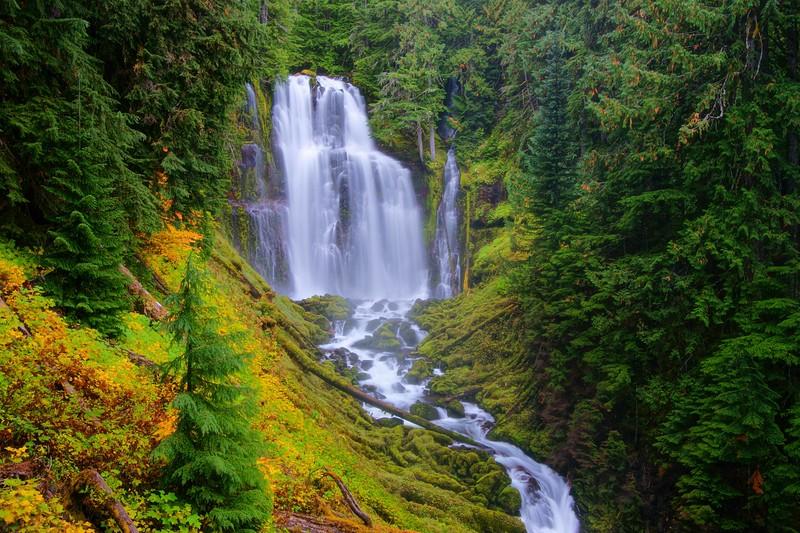 Lower Linton Creek Falls