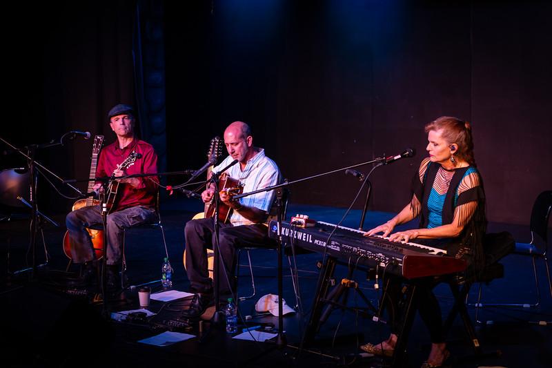 Tim May, Richard Gilewitz and Linda