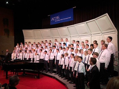 AMIS European Middle School Honor Boys' Choir
