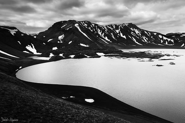 Black + White: Iceland