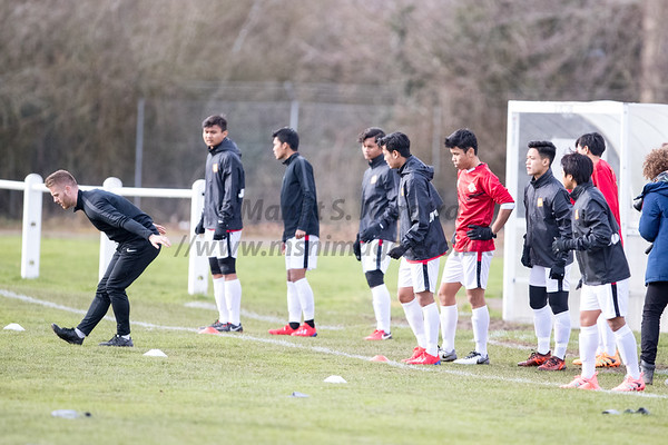 Garuda Select XI vs Macclesfield U18s' 13th Feb 2019