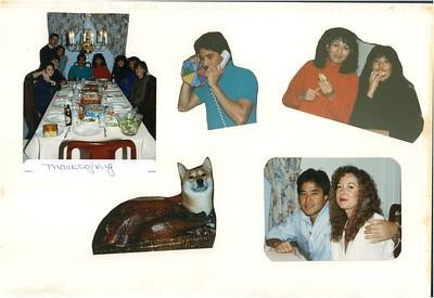 11-23-1989 Thanksgiving @ Kam's