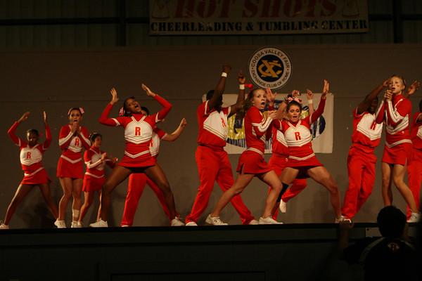 Coosa Valley Fair Cheerleading 2007