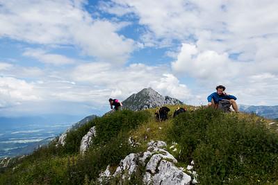07 12 Storzic - Preddvor ridge traverse